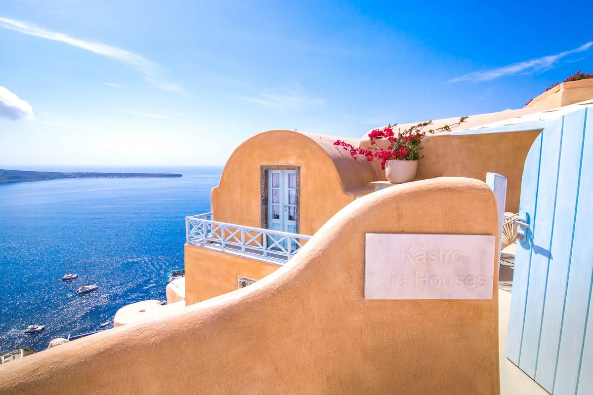 accommodation santorini greece | Kastro Oia Houses