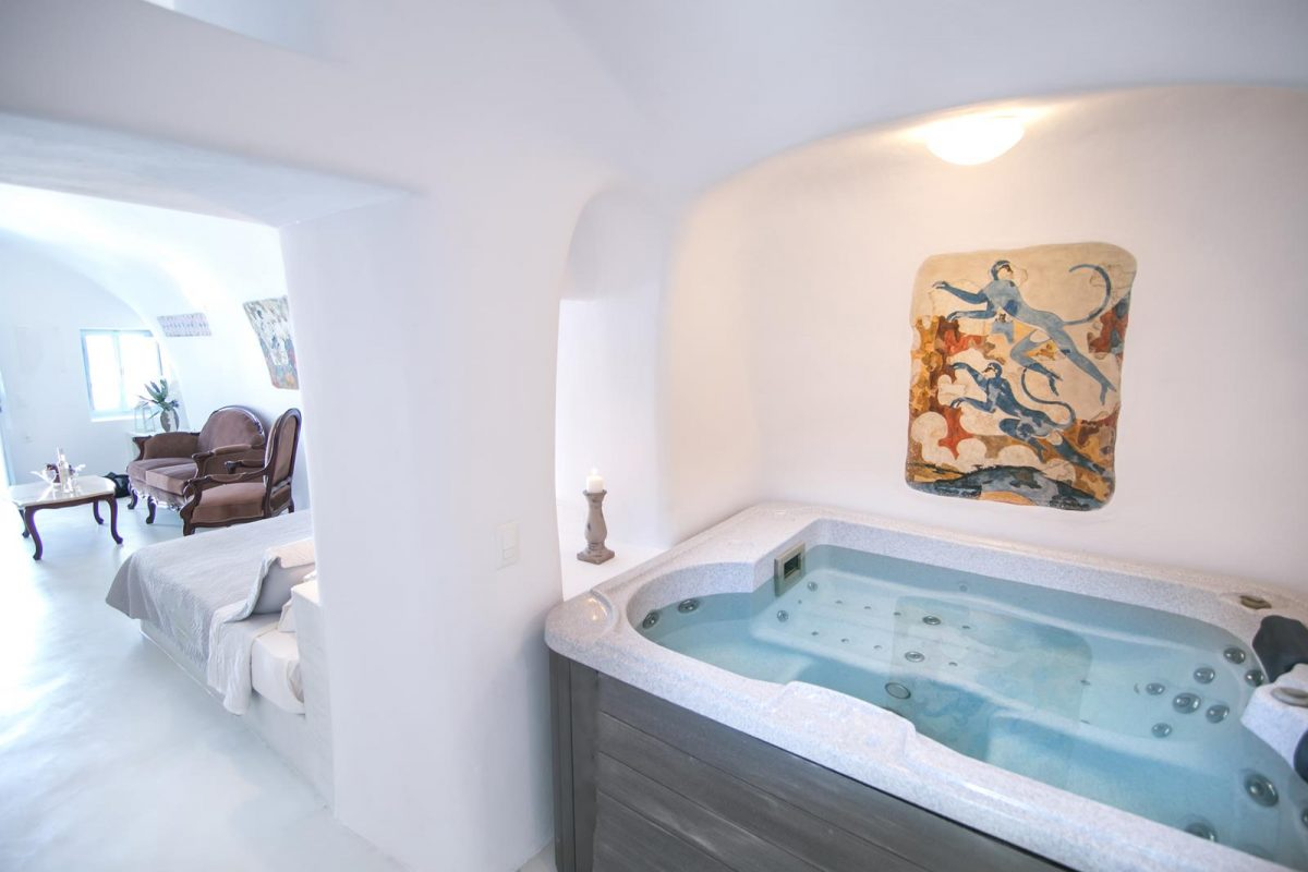 santorini oia accommodation| Kastro Oia Houses