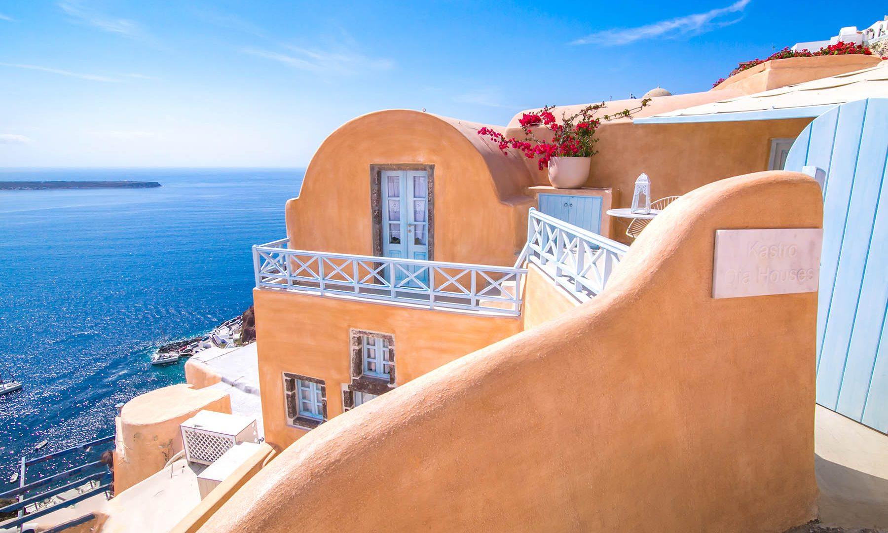 oia santorini hotels | Kastro Oia Houses